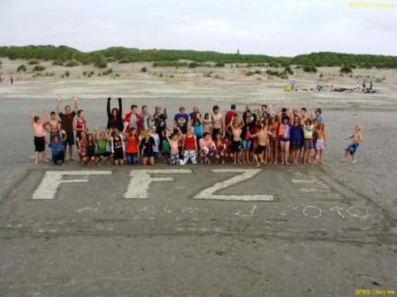 Ferienfreizeit 2010 der DPSG Pfadfinder Oberpleis auf Ameland