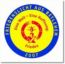 friedenslicht2007-aufnaeher