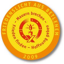 friedenslicht2009-aufnaeher