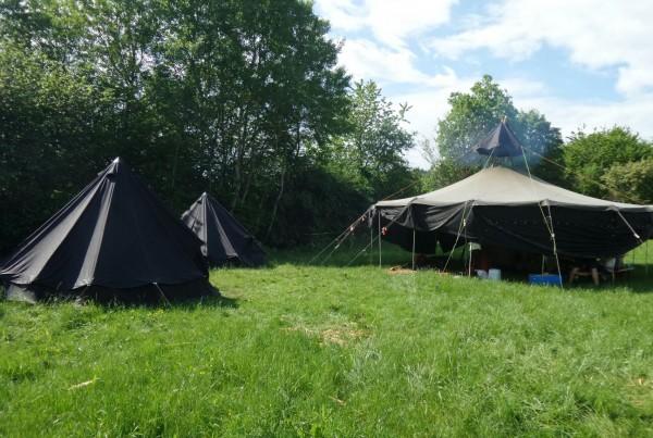 Zeltlager und Roverversprechen Gruppe Jan&Giersi