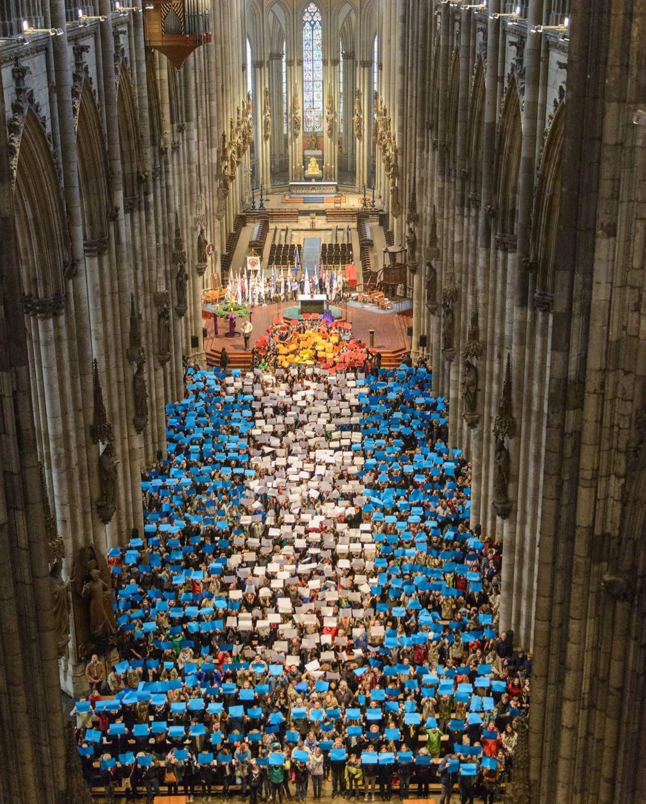 Friedenslicht abholen in Köln 2016