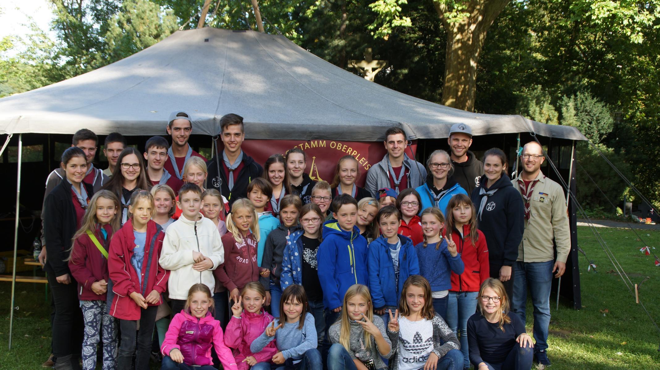 Kennenlernnachmittag der Pfadfinder in Oberpleis 2017