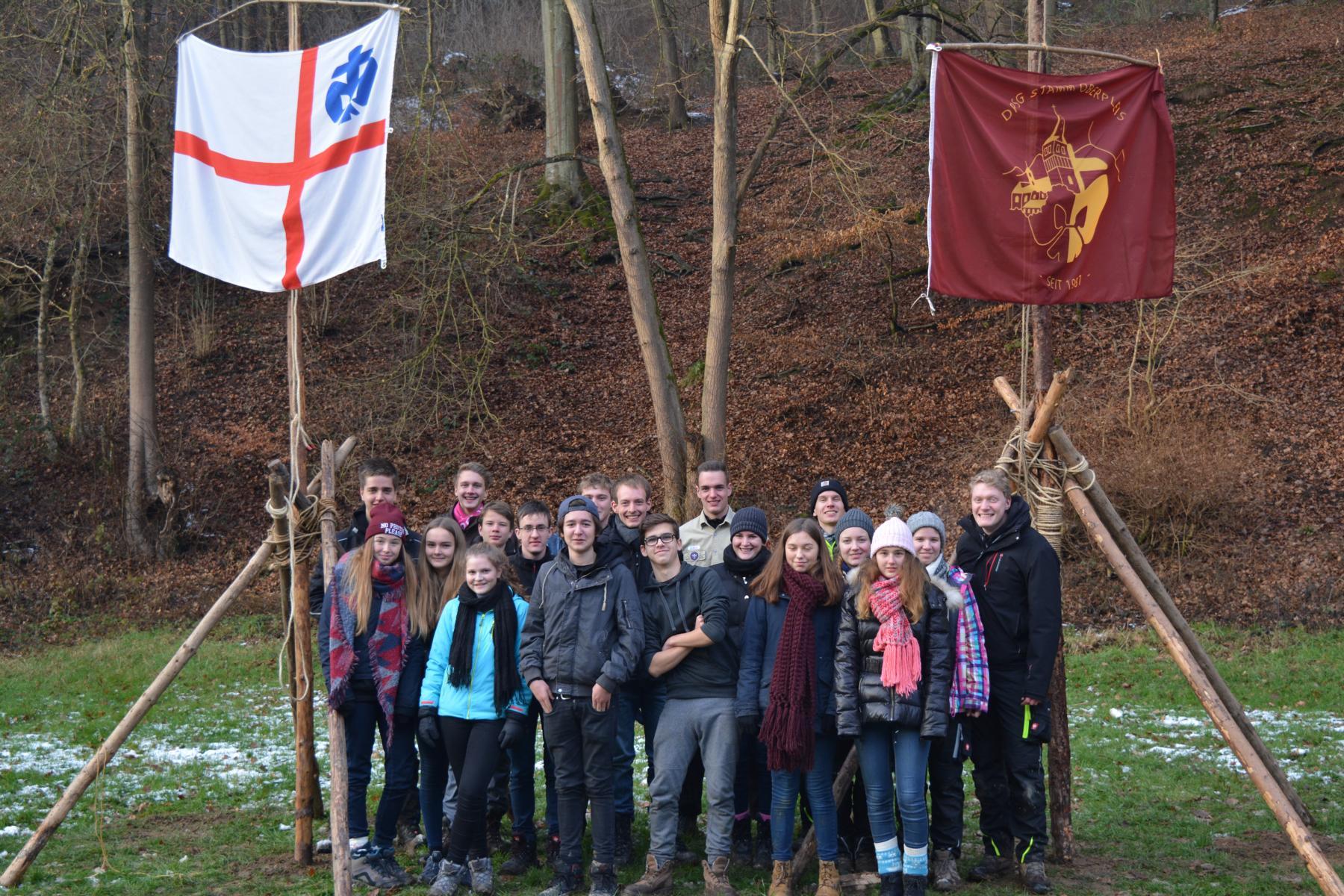 Winterlager im Brexbachtal 2017