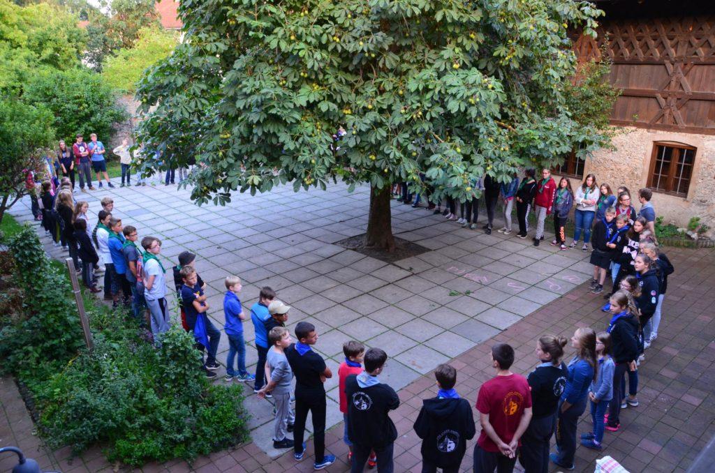 FerienFreiZeit 2017 - Ankunft und erste Kennenlernspiele