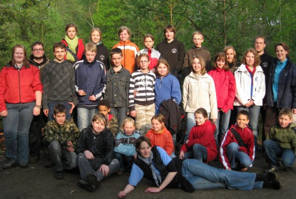 Georgstag 2009 im Kletterwald