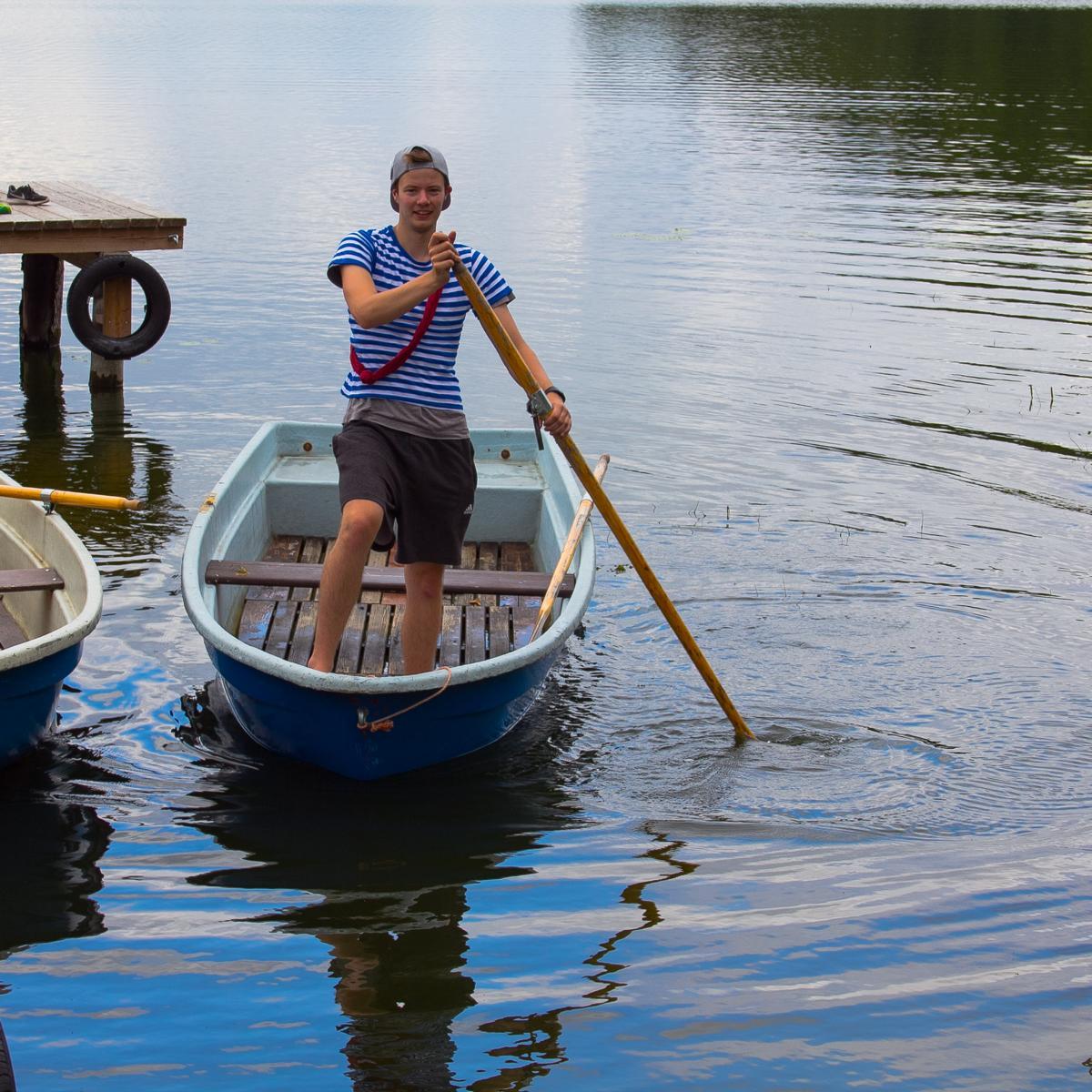 FFZ 2018 - Ruderboot