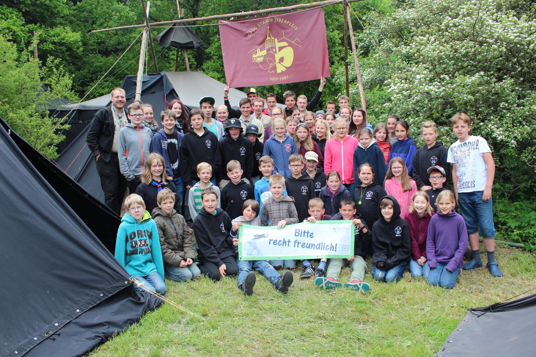 Pfingstlager in Westernohe 2015
