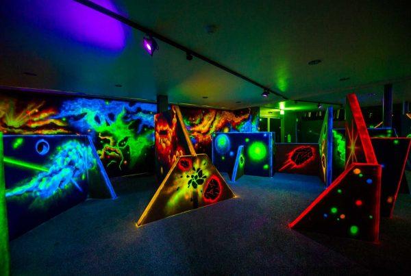 Lasertag Area